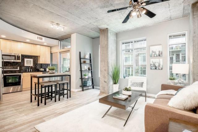 1700 Bassett Street #305, Denver, CO 80202 (#4736657) :: HomeSmart Realty Group