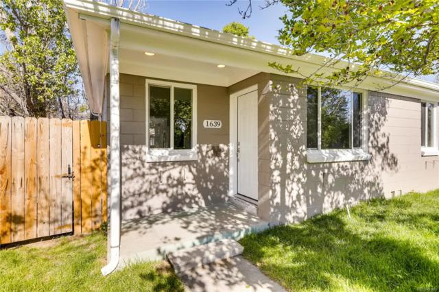 1639 Yosemite Street, Denver, CO 80220 (MLS #4738591) :: 8z Real Estate