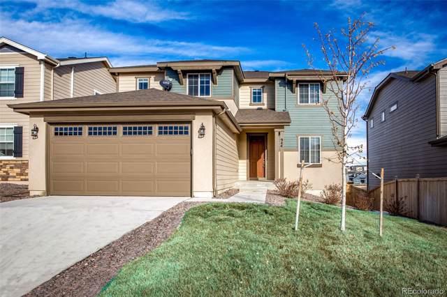 944 Mcmurdo Circle, Castle Rock, CO 80108 (MLS #4741834) :: 8z Real Estate