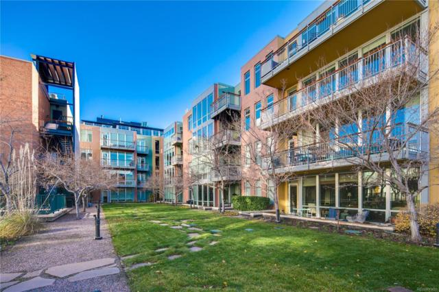1401 Delgany Street #309, Denver, CO 80202 (#4761510) :: The Peak Properties Group