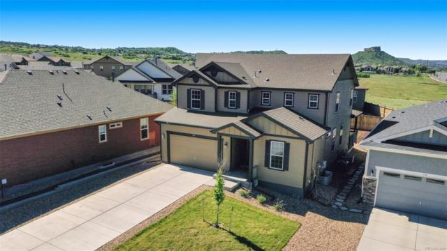 348 Tippen Place, Castle Rock, CO 80104 (MLS #4778732) :: 8z Real Estate