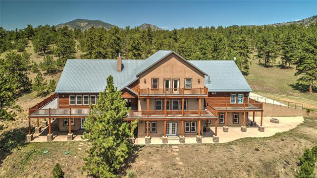 750 Old Kathleen Trail, Guffey, CO 80820 (#4817559) :: The DeGrood Team