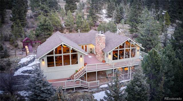 2218 Witter Gulch, Evergreen, CO 80439 (#4820121) :: The Harling Team @ Homesmart Realty Group
