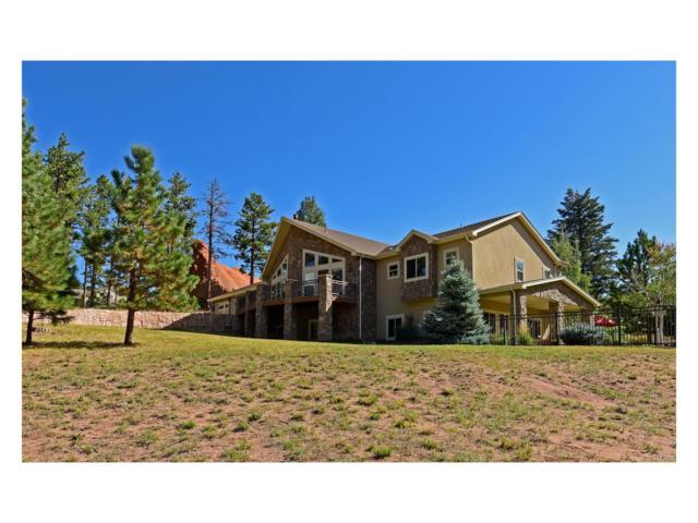 4945 Crow Drive, Larkspur, CO 80118 (MLS #4839626) :: 8z Real Estate