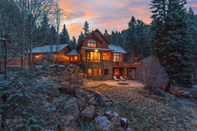 13685 S Baird Road, Conifer, CO 80433 (#4843826) :: HomePopper