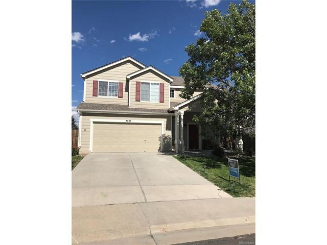 5447 Suffolk Circle, Castle Rock, CO 80104 (MLS #4854304) :: 8z Real Estate