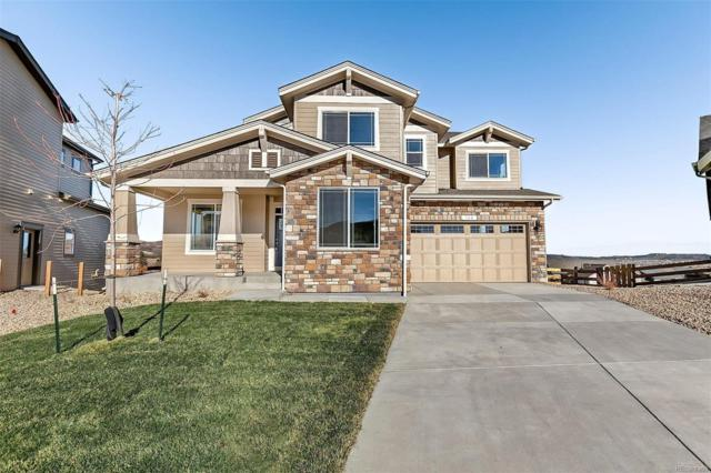 360 Sage Grouse Circle, Castle Rock, CO 80109 (#4854438) :: The HomeSmiths Team - Keller Williams