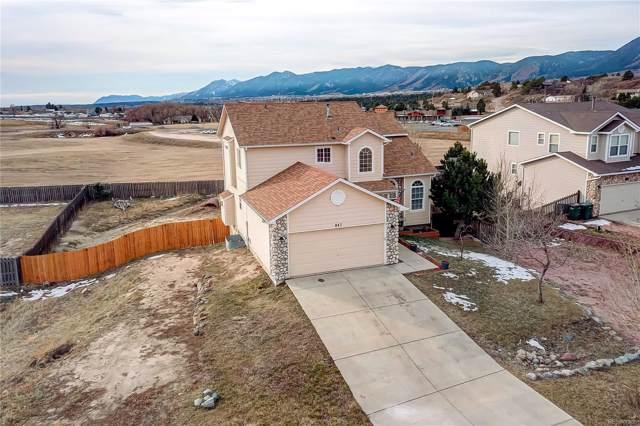 847 Circle Road, Colorado Springs, CO 80133 (MLS #4873558) :: 8z Real Estate