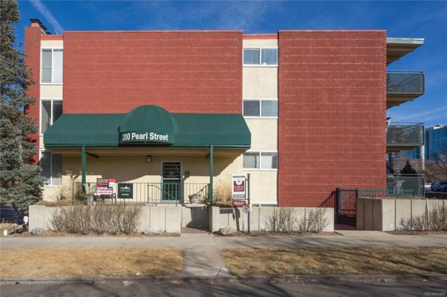 200 Pearl Street #307, Denver, CO 80203 (#4892899) :: Bring Home Denver