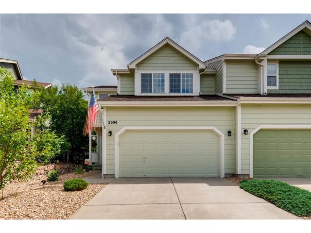 2694 Live Oak Court, Castle Rock, CO 80104 (MLS #4901860) :: 8z Real Estate
