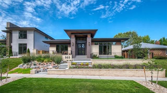 965 S Steele Street, Denver, CO 80209 (#4963752) :: Berkshire Hathaway Elevated Living Real Estate