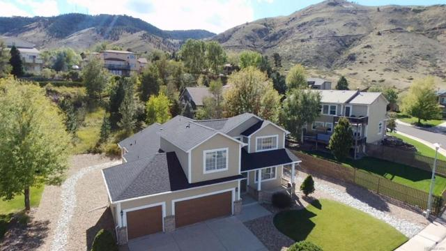 1915 Parfet Estates Drive, Golden, CO 80401 (#5024731) :: The DeGrood Team
