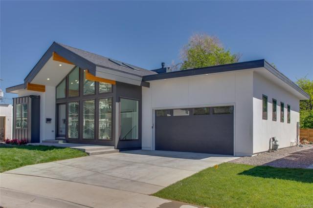 5409 E Bails Drive, Denver, CO 80222 (#5040336) :: House Hunters Colorado
