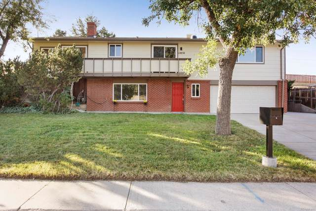 12850 W 6th Place, Lakewood, CO 80401 (#5056958) :: HomePopper