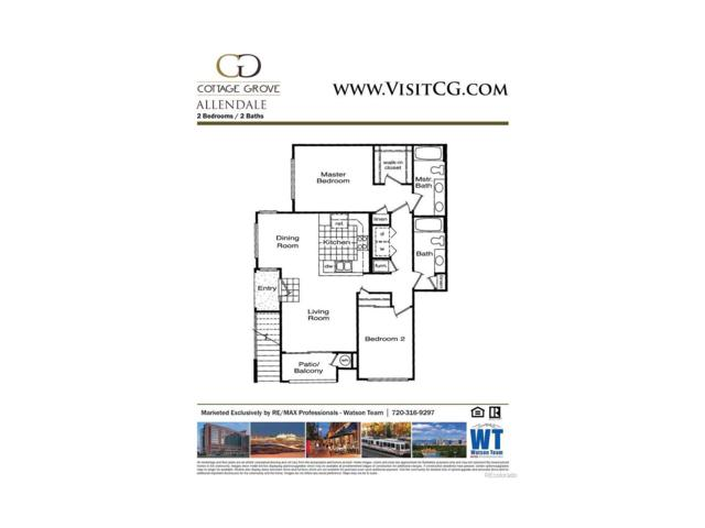 1614 Granby Way #104, Aurora, CO 80011 (#5133692) :: The Griffith Home Team