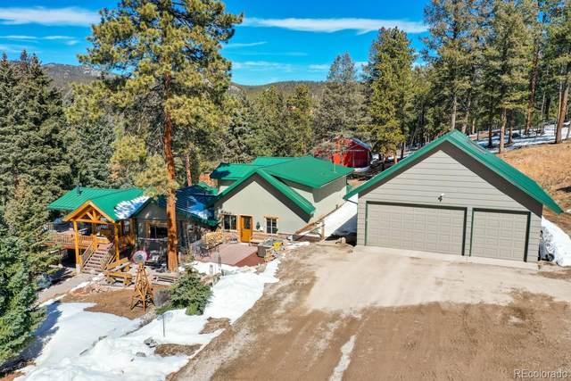 12077 Elk Trail Road, Conifer, CO 80433 (MLS #5212547) :: 8z Real Estate