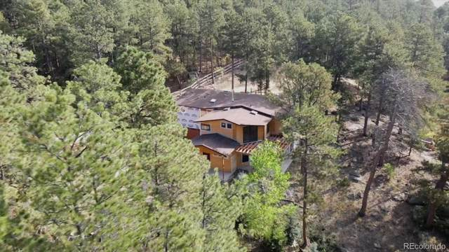 1335 Yarnell Drive, Larkspur, CO 80118 (#5228492) :: The Dixon Group
