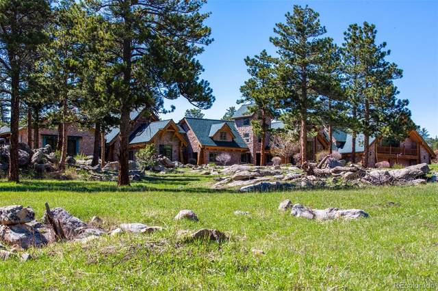 1260 Twin Sisters Road, Nederland, CO 80466 (#5238074) :: Finch & Gable Real Estate Co.