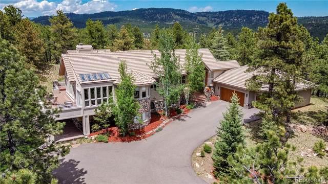 2662 Elk Valley Road, Evergreen, CO 80439 (MLS #5278081) :: 8z Real Estate
