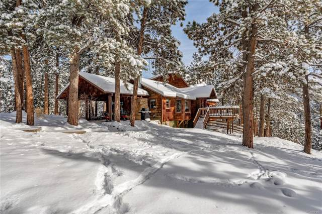 27899 Hidden Trail, Conifer, CO 80433 (#5281519) :: The DeGrood Team
