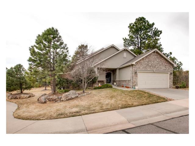 7649 Pineridge Terrace, Castle Pines North, CO 80108 (MLS #5299137) :: 8z Real Estate