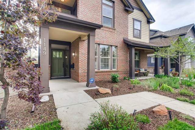 1149 S Logan Street, Denver, CO 80210 (#5327276) :: Wisdom Real Estate