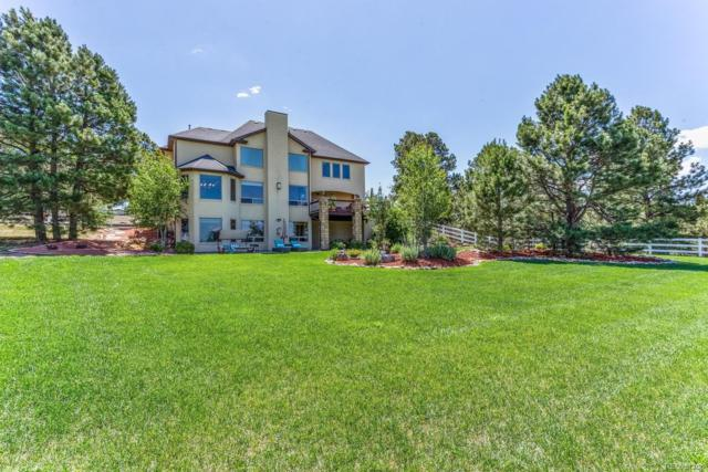 8545 N Delbert Road, Parker, CO 80138 (#5350150) :: The Griffith Home Team