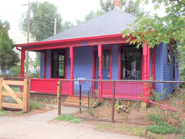 416 N Franklin Street, Colorado Springs, CO 80903 (#5365500) :: The Pete Cook Home Group