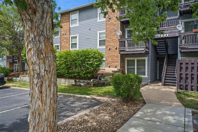 7881 Allison Way #101, Arvada, CO 80005 (#5368339) :: Briggs American Properties
