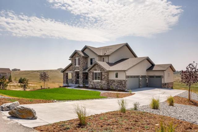 8780 Hurlingham Loop, Franktown, CO 80116 (#5438592) :: Colorado Home Finder Realty