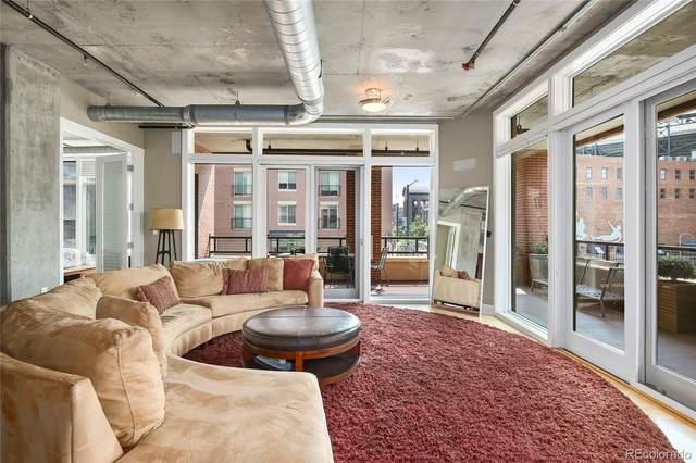 2210 Blake Street #201, Denver, CO 80205 (#5508131) :: Finch & Gable Real Estate Co.