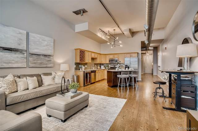 2441 N Broadway #113, Denver, CO 80205 (#5531065) :: The Dixon Group