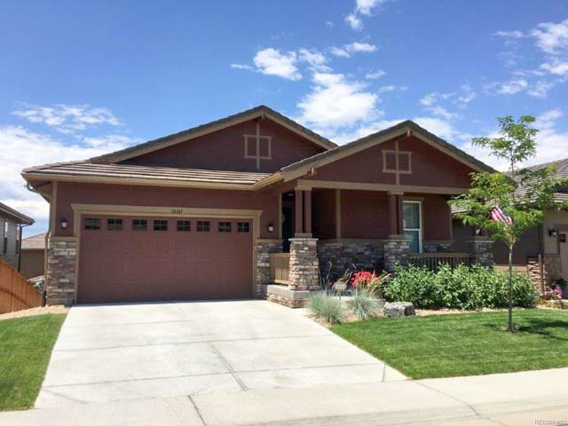 10347 Kenneth Drive, Parker, CO 80134 (#5536628) :: The Healey Group