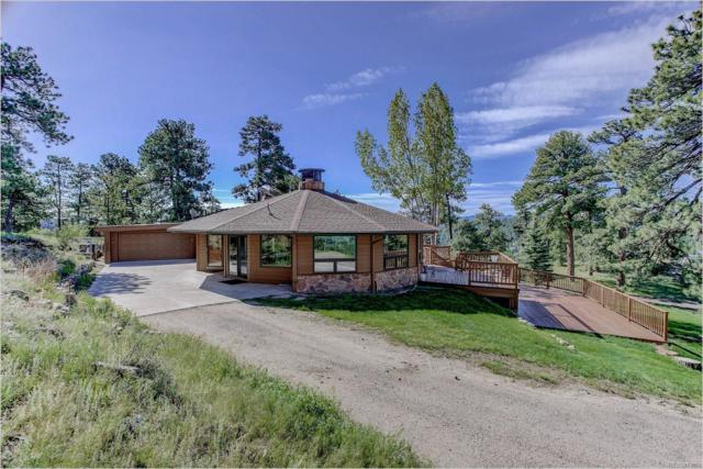 980 Soda Creek Road, Evergreen, CO 80439 (#5545313) :: The HomeSmiths Team - Keller Williams