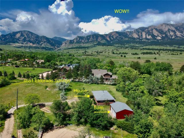 4681 Eldorado Springs Drive, Eldorado Springs, CO 80303 (#5572784) :: Bring Home Denver with Keller Williams Downtown Realty LLC