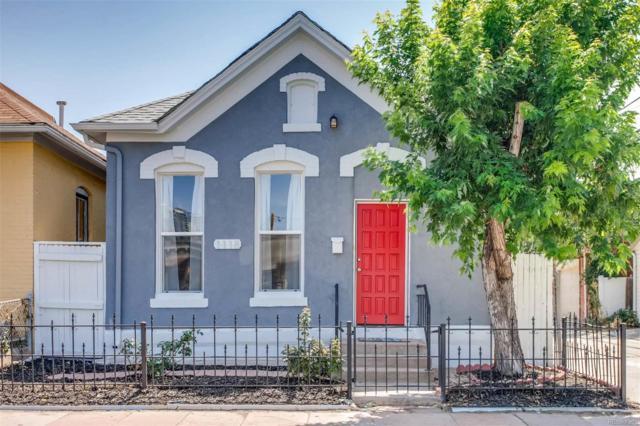 1118 W 13th Avenue, Denver, CO 80204 (#5587195) :: Bring Home Denver