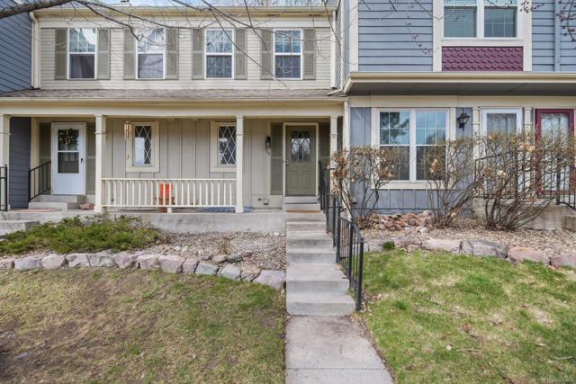 1699 S Trenton Street #135, Denver, CO 80231 (#5596303) :: The Heyl Group at Keller Williams