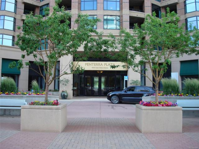 8100 E Union Avenue #408, Denver, CO 80237 (#5633140) :: The Pete Cook Home Group