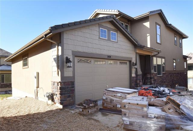 1414 Skyline Drive, Erie, CO 80516 (#5640725) :: Colorado Home Finder Realty