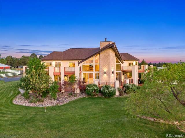 8888 Inspiration Drive, Parker, CO 80138 (#5641362) :: The DeGrood Team