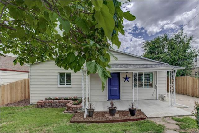 3390 W Gill Place, Denver, CO 80219 (#5650350) :: The Galo Garrido Group