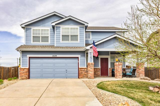 1429 N Monument Drive, Castle Rock, CO 80104 (#5678013) :: The DeGrood Team