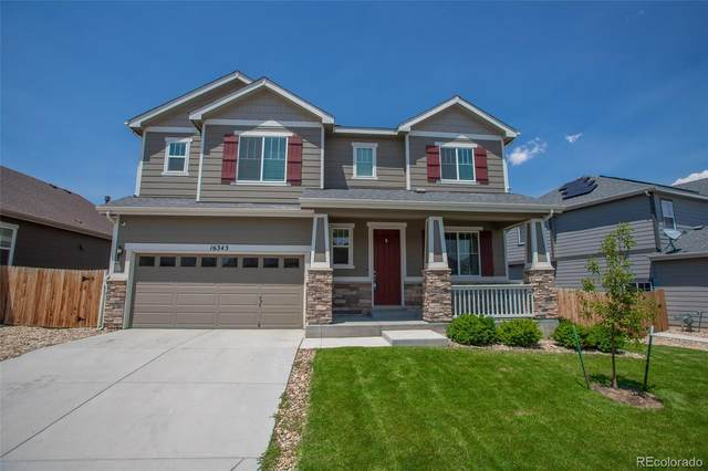 16343 E 100th Way, Commerce City, CO 80022 (#5693736) :: The Gilbert Group