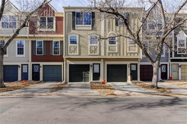 1699 S Trenton Street #109, Denver, CO 80231 (#5730507) :: The Harling Team @ Homesmart Realty Group