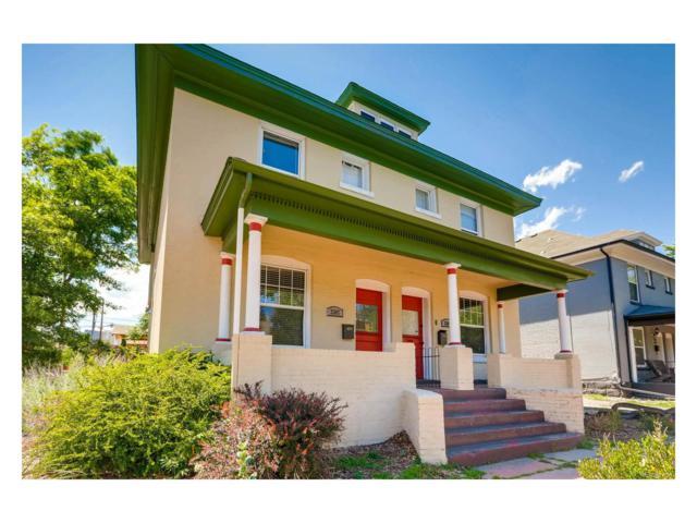 2307 Clarkson Street, Denver, CO 80205 (#5730696) :: The Peak Properties Group