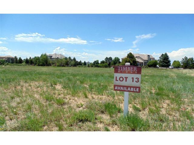 1435 White Fir Terrace, Castle Rock, CO 80108 (MLS #5734545) :: 8z Real Estate