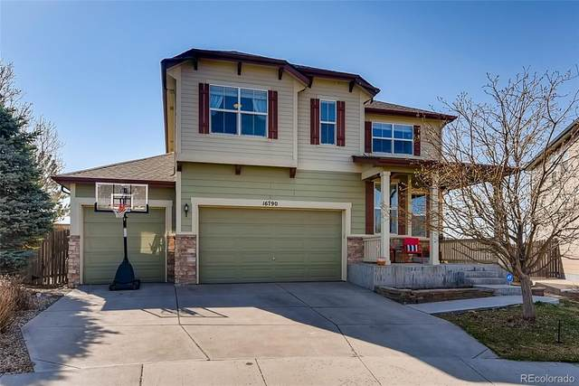 16790 E 101st Avenue, Commerce City, CO 80022 (#5757431) :: iHomes Colorado