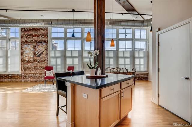2441 Broadway #108, Denver, CO 80205 (MLS #5767109) :: 8z Real Estate
