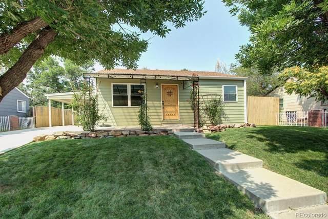 251 S Xavier Street, Denver, CO 80219 (#5847120) :: Own-Sweethome Team