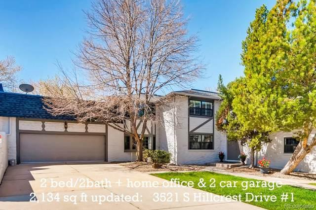 3521 S Hillcrest Drive #1, Denver, CO 80237 (MLS #5883674) :: Find Colorado